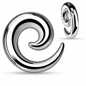 Töjsmycke spiral i lättmetall