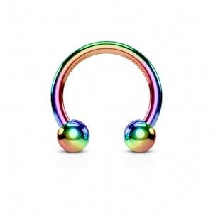 Regnbågsfärgad hästsko