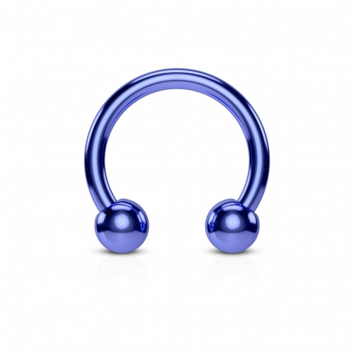 Blå hästsko