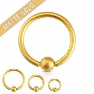 Cbr med matt guld plätering