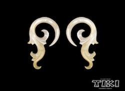 Ett par Tiki Mother of pearl