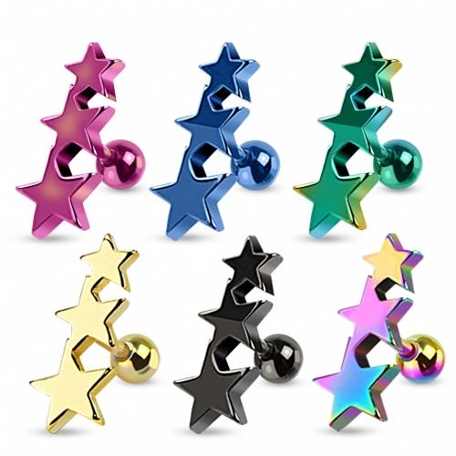 Tragus med tre stjärnor