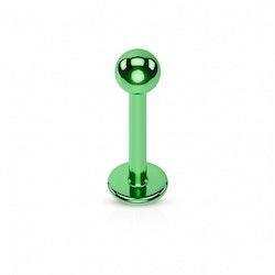 Grön labret med boll