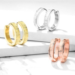 Örhängen med ringar