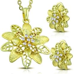 Smycke set med bling