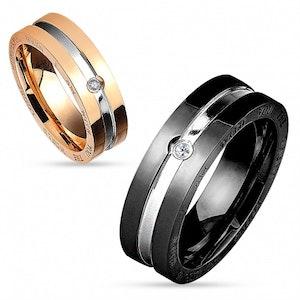 Elegant ring med budskap