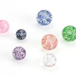 Lös boll med glitter