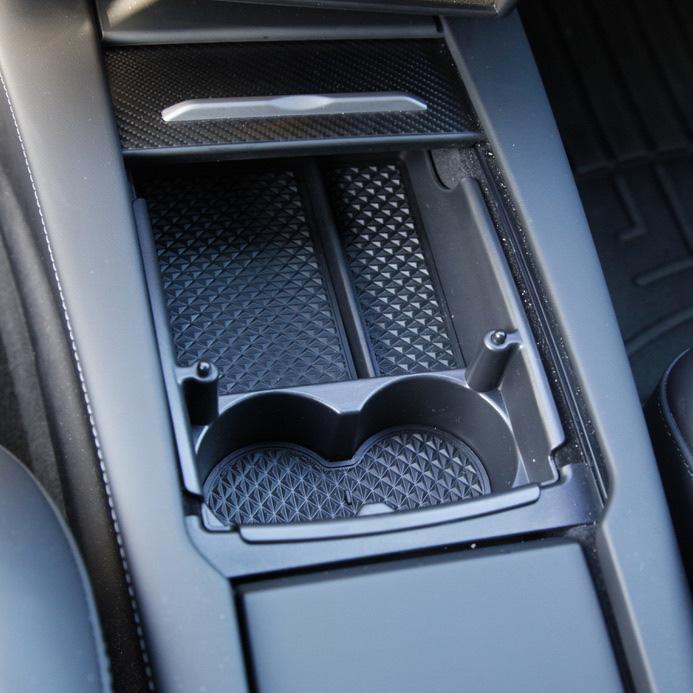 Smart förvaringslåda till mittkonsollen till Tesla Mode S / X