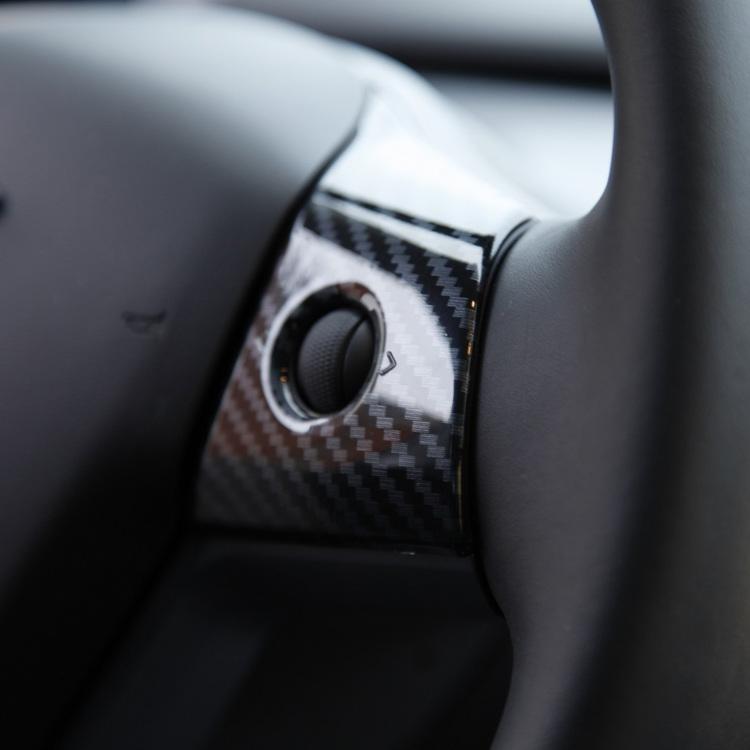 Ännu en närbild på panelerna till ratten.