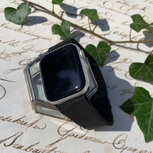 Apple Watch armband Milanesisk loop - svart