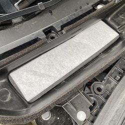 Luftfilter ventilationen i frunken - Tesla Model 3