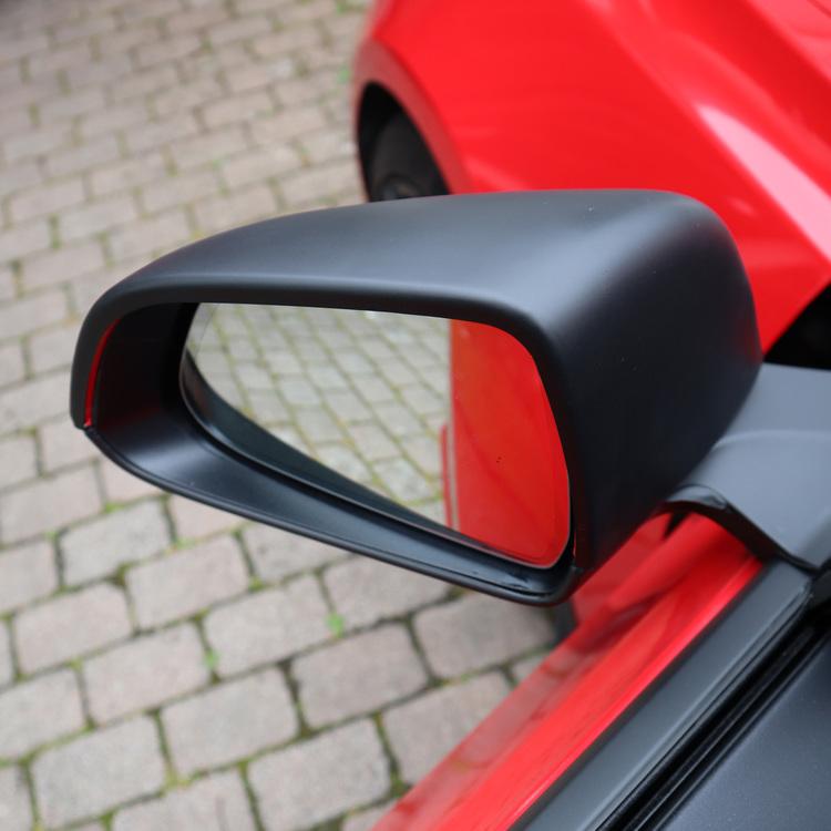 Kåpor till sidospeglarna, matt svarta - Tesla Model 3