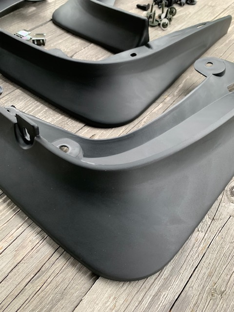 Stänkskärmar mattsvarta - Tesla Model S