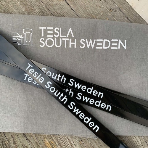 Tygväska - Tesla South Sweden