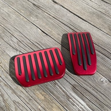 Pedaler röda - set om 2 - Tesla Model 3
