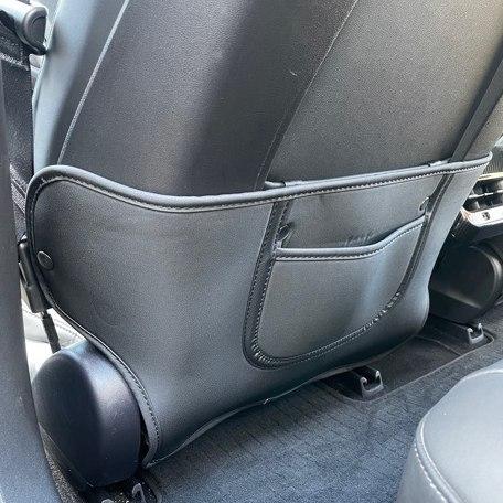 Antikick t framsätena, svart kort modell - Tesla Model 3/Y