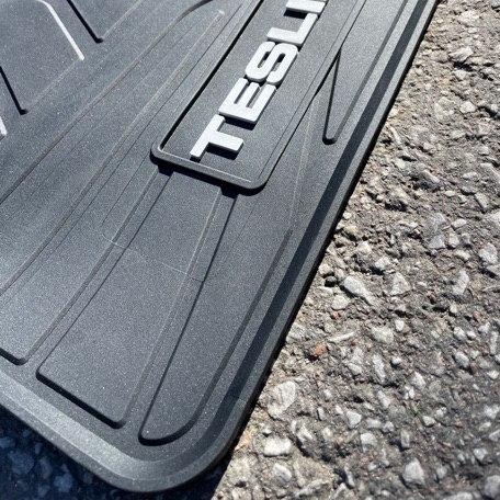 Gummimattor - Tesla Model X - 6 säten