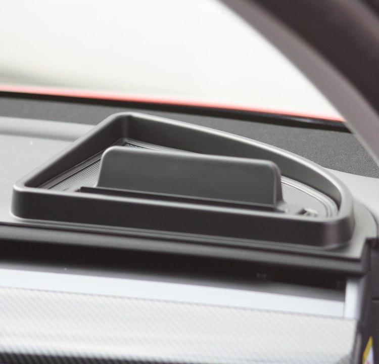 Brickor mobilhållare, set om 2 - Tesla Model 3