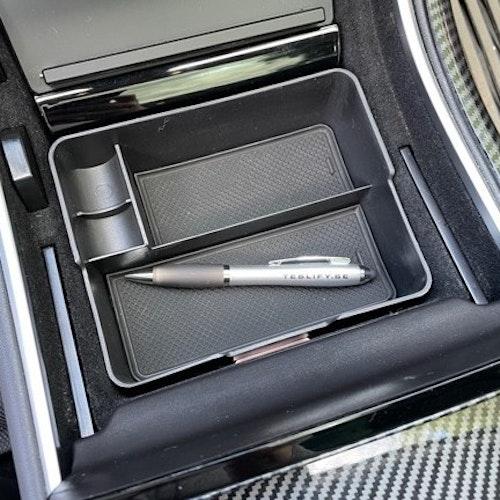 Förvaringslåda mittkonsoll i plast - Tesla Model 3