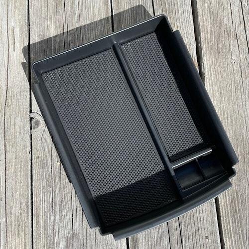 Förvaringslåda mittkonsollen, enklare modell - Tesla Model S/X