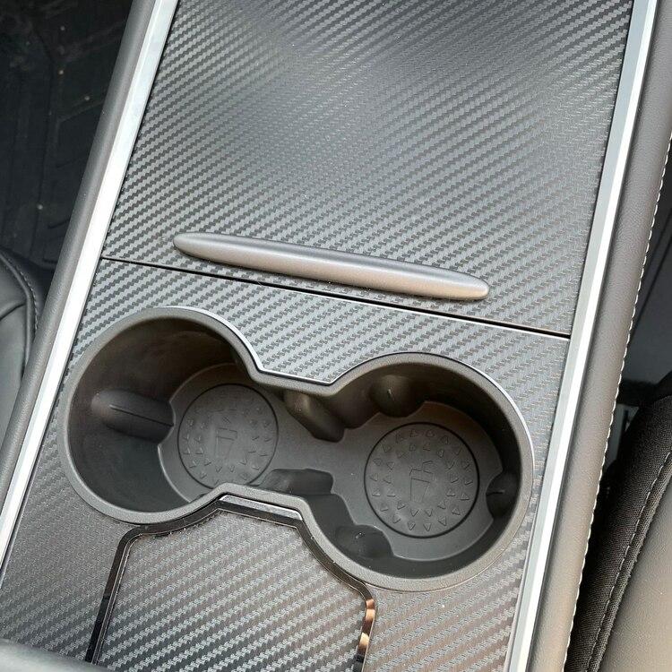 Handtag till konsollen, mörkgrått - Tesla Model 3 2021/Y