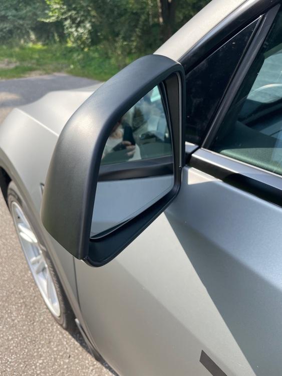 Kåpor till backspeglarna, matt svart - Tesla Model Y