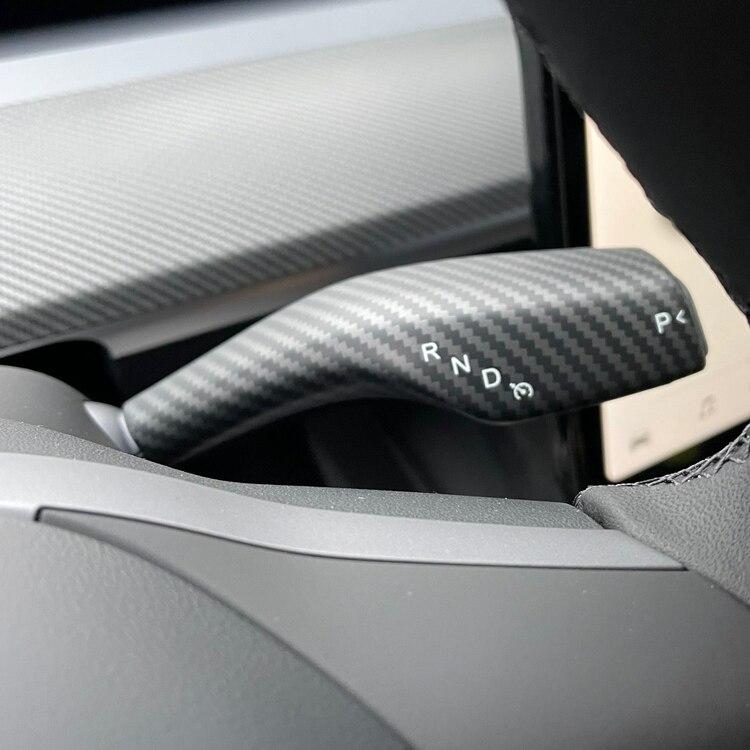 Paneler t rattspakarna matt carbon fiber - Tesla Model Y