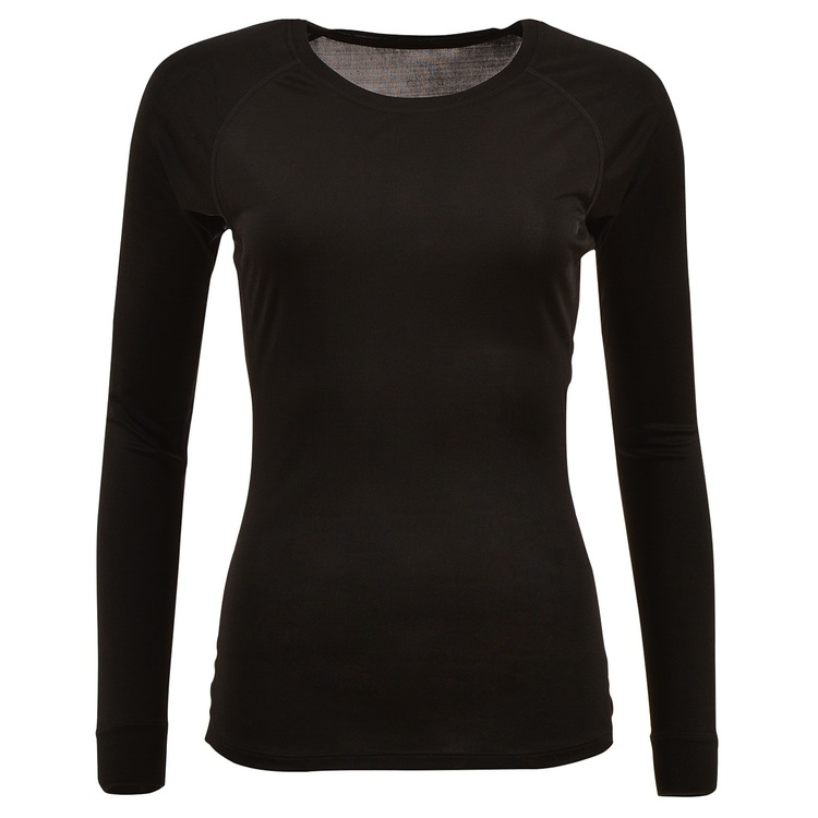 WOMEN'S LONG SLEEVE BLACK