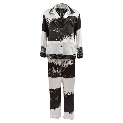 WOMEN'S PJ SET STRIPE