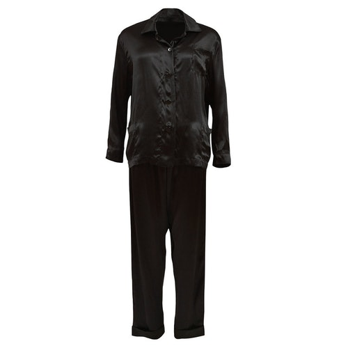 WOMEN'S PJ SET BLACK