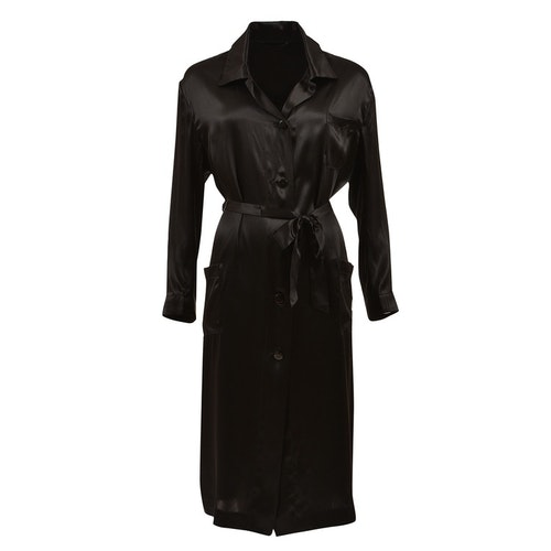 WOMEN'S ROBE BLACK