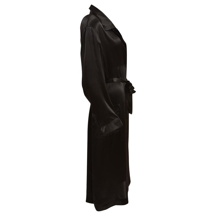 WOMEN'S ROBE BLACK