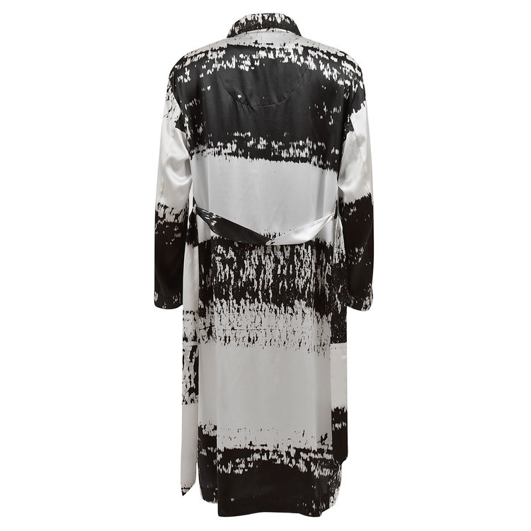 WOMEN'S ROBE STRIPE