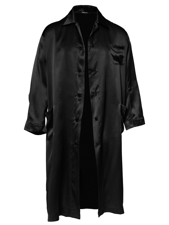 MEN'S ROBE BLACK