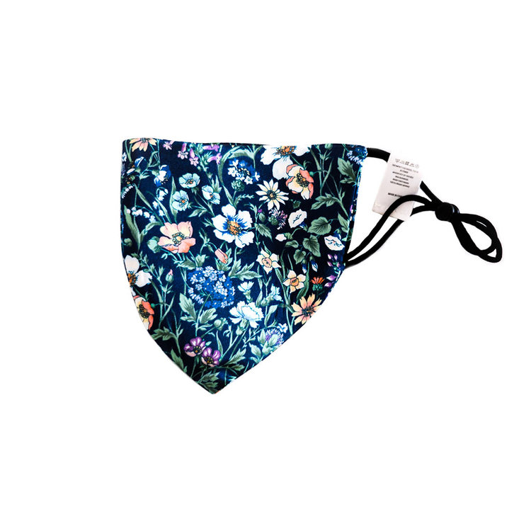 SILK MASK COLOR FLORAL