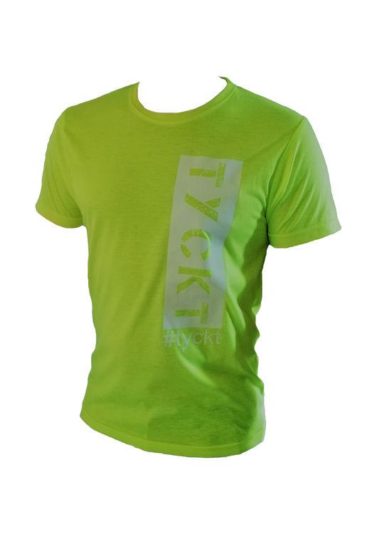 Herr T-shirt (Neongul)