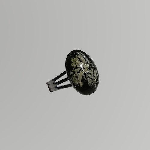 Blåslav Metallic svart