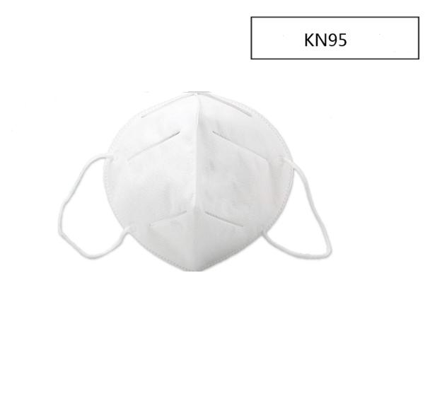 Filtrerande halvmask FFP2 munskydd unisex - klass: FFP2 - paket med 2 st