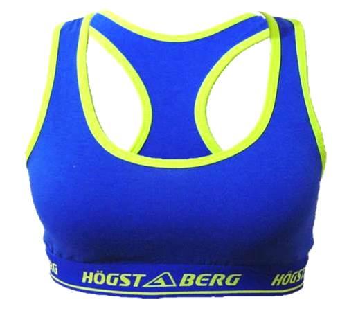 Underklädesset Bustier+Trosor+Tanga Blå färg