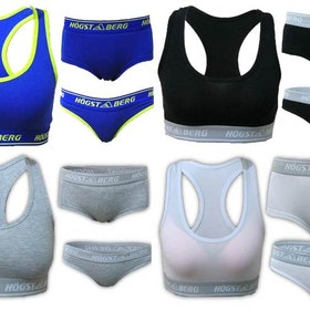 Underklädesset Bustier+Trosor+Tanga