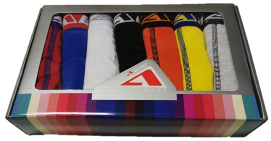 7 Pack Högstaberg  Boxer Shorts-Kalsonger