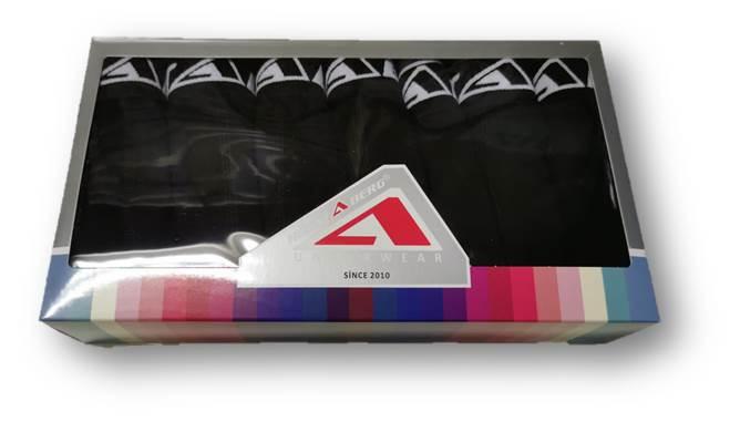 Flerpack Boxer Kalsonger i Svart färg 7 Pack