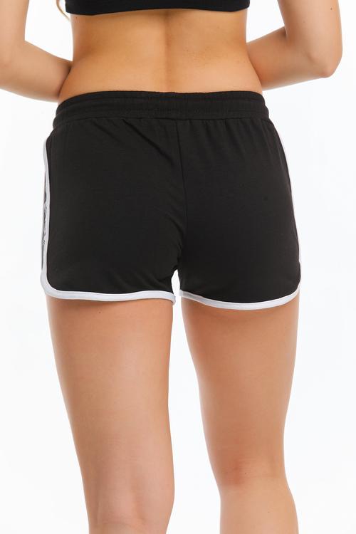Sport Shorts Svart-vit färg