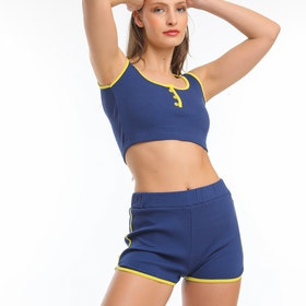 Högstaberg Crop top och shorts set