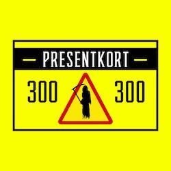 PRESENTKORT SPÖKJÄGARBUTIKEN (VALFRITT BELOPP)