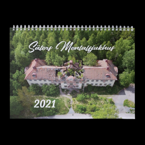 SÄTERS MENTALSJUKHUS VÄGGKALENDER 2021