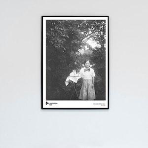 Poster - John Alinder Porträtt 1910-32 NEG. NO. 0048 50x70 cm