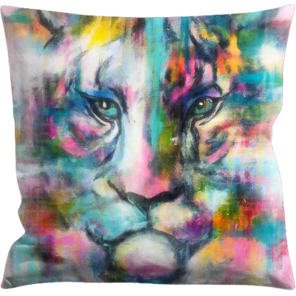 Tiger Color kuddfodral