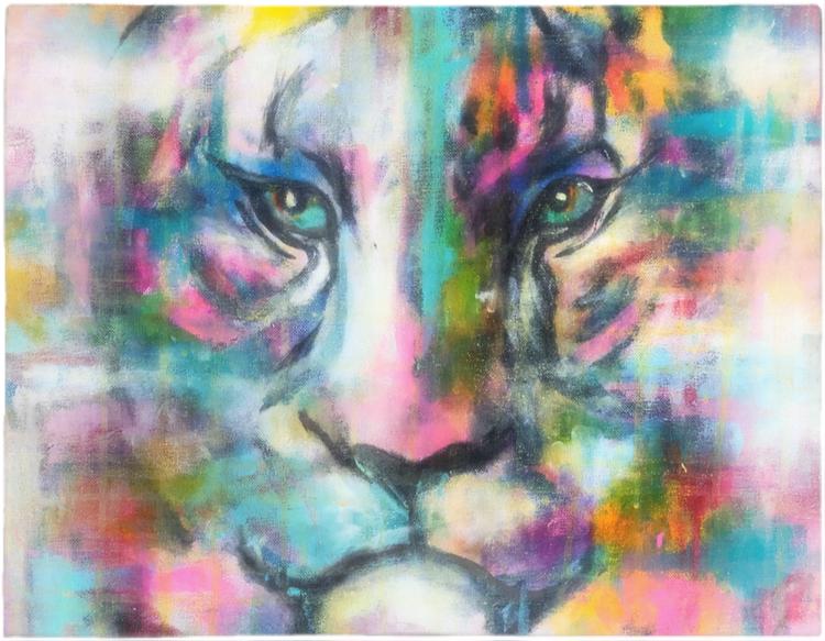 Bordstabletter 2- pack tiger color