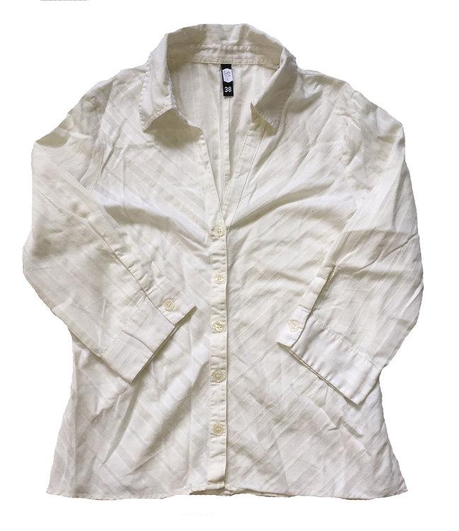 Vit skjorta stl 38